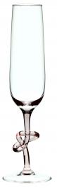 Sklenice na šampaňské UZEL Rosalin 240 ml