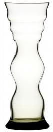 Corrugated vase Smoke 291 mm