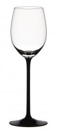 Sklenice na bílé víno ČERNÁ NOHA 210 ml