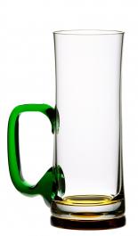 Sklenice na pivo se zeleným uchem 300 ml