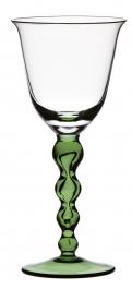 Sklenice na červené víno SNĚHULÁK Zelená noha 240 ml