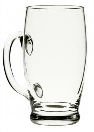 Sklenice na pivo Soudek úzká 240 ml s optikou