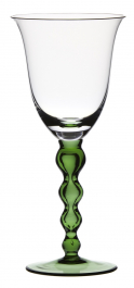 Sklenice na bílé víno SNĚHULÁK Zelená noha 200 ml